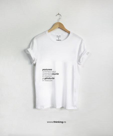 tricou x pasiunea