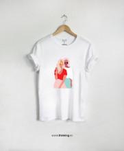 tricou x two girls