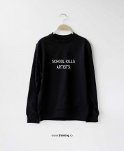 pulover x school kills artists