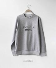 pulover x school kills artists