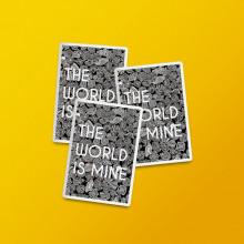 """Pack stickere """"World"""""""