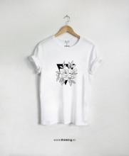 tricou x flower