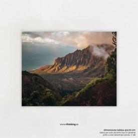 brown mountains landscape