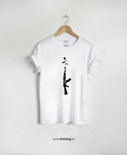 tricou x gun flower