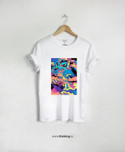 tricou x this is art