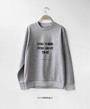 pulover x you think you have time
