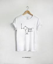 tricou x love