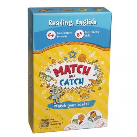 MATCH AND CATCH – Joc educativ pentru invatarea limbii engleze, Brainy Band.