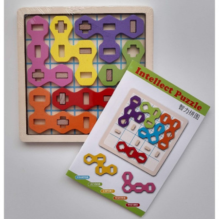 Joc logica IQ Candy Intellect Puzzle.