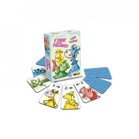 Joc de carti pentru copii Gaseste-ti un prieten, Logis