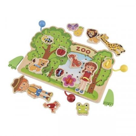 Joc de snuruit La Gradina Zoologica, Playtive Junior.