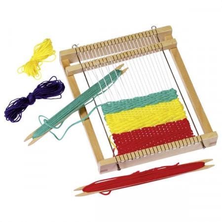 Jucarie creativa pentru copii Gherghef sau Razboi de tesut, GOKI. Jocuri si Jucarii Montessori.din lemn