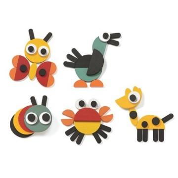 Joc creativ Geoanimo. Joc educativ Montessori.