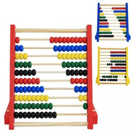 Abac Numaratoare din lemn, Matematica distractiva.