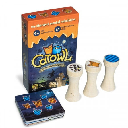 CatOwl, Joc educativ de aritmetica mentala si matematica distractiva, Brainy Band.