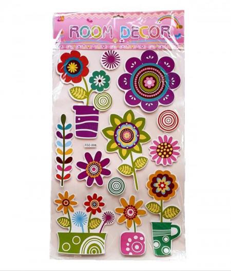 Sticker decorativ camera copii, Decoratiuni perete.