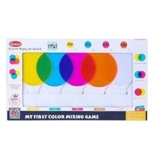 Joc educativ Mixarea culorilor