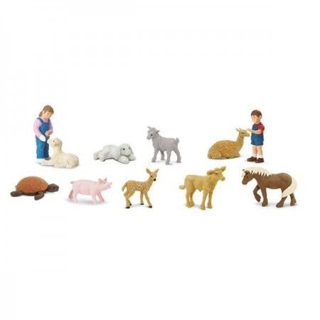 Tub figurine Animale prietenoase Safari Ltd