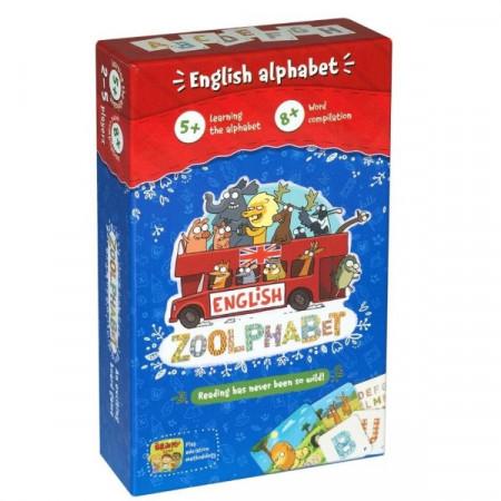 Joc de societate pentru copii Zoolphabet English, Brainy Band.