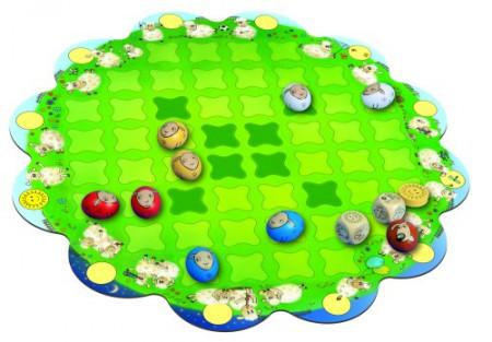 Joc de societate pentru copii Ciobanasul, Logis.