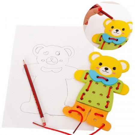 Joc educativ Montessori, Ursuleti de Snuruit.