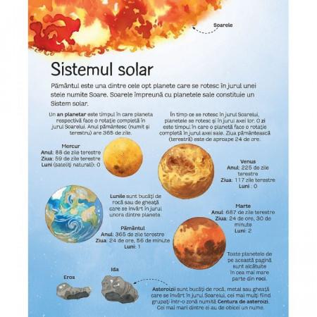 Marea carte a stelelor si planetelor, carte Usborne in limba romana.