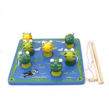 Joc de pescuit Borscutele 3D, Fishes Frog.
