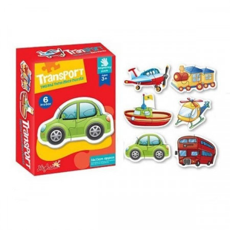 Puzzle bebe, 2-3 piese carton. Puzzle educativ JigSaw.