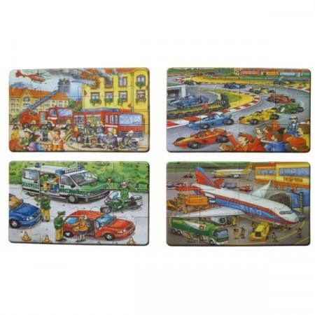 Puzzle Montessori, Jig Saw, copii 3 ani