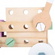 Set constructii Nordic Small Foot, Jucarie indemanare si creativitate.