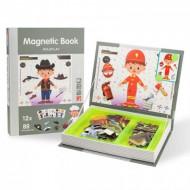 Carte magnetica PlayBook Meserii, 101 piese.