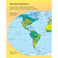 Primul meu atlas, carte Usborne in limba romana.