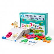 Joc cognitiv in limba engleza Primele cuvinte. Joc educativ Alfabet.