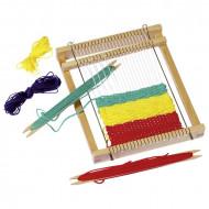 Jucarie creativa pentru copii Gherghef sau Razboi de tesut, GOKI. Jocuri si Jucarii Montessori din lemn.