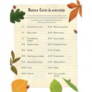 Descopera natura. Carte cu activitati in limba romana, Usborne.