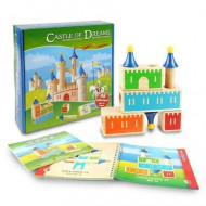 Joc din lemn Castle of Dreams, Joc logica Castel + 4 ani.
