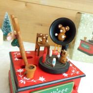 cutie muzicala jucarie ieftina lemn