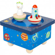 Music box Space, Cutie muzicala, Jucarie muzicala Small Foot.