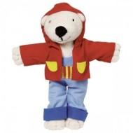 Timba, set Îmbracă Ursuleţul - Goki, Ursulet cu haine