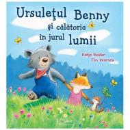 Ursuletul Benny si calatoria in jurul lumii. Carte pentru copii.
