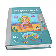 Carte Puzzle magnetic PlayBook, Peisaje acvatice, 75 piese.