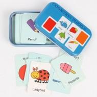 Joc copii dezvoltare cognitiva Asociere culori, limba engleza.Jucarii si Jocuri Montessori