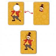 Joc educativ Carduri Asocieri Gaseste-i Perechea, 2 – 3 ani.