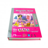 Joc educativ puzzle magnetic, Fashion Book, PlayBook.