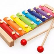 Jucarie muzicala - Xilofon din lemn