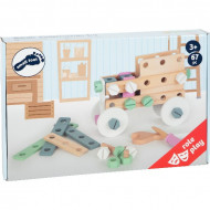 Set constructii Nordic Small Foot, Jucarie indemanare si creativitate.
