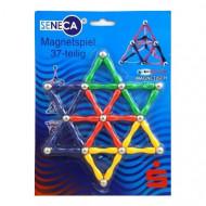 Set de constructie MagnetSpiel, 37 piese. Joc magnetic.
