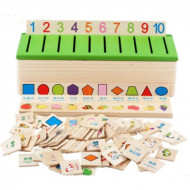 Joc educativ Asocieri si Clasificari, Joc Montessori 3-5 ani.