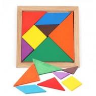Joc Tangram lemn.