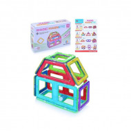 Set de constructie magnetic 3D. Magic Magnetic 10 piese.